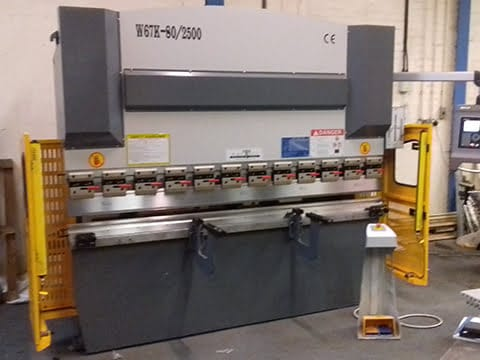 80T Press Brake in Staffordshire