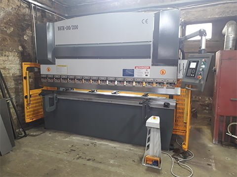 100 Tonne Press Brake West Yorkshire