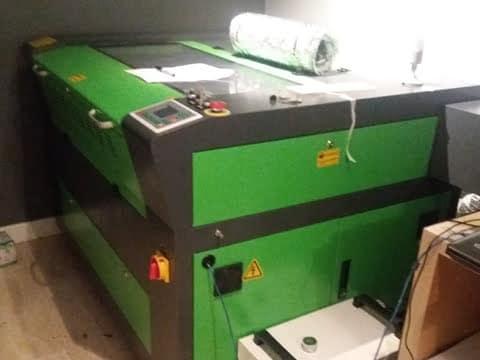 Laser Cutter Installation in Gloucester