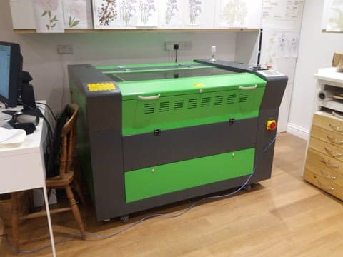 CO2 Laser Cutter Brecon Beacons
