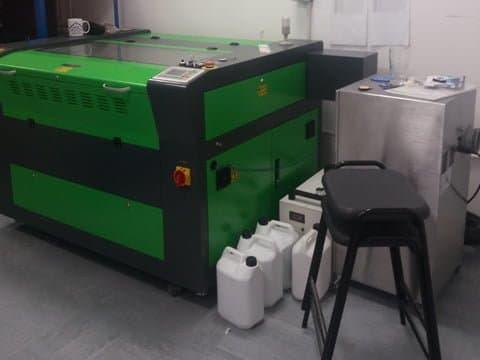 80w CO2 laser cutter