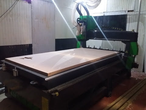 Large format CNC router Chester