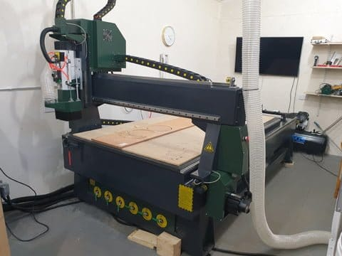 CNC Flatbed Router Yorkshire