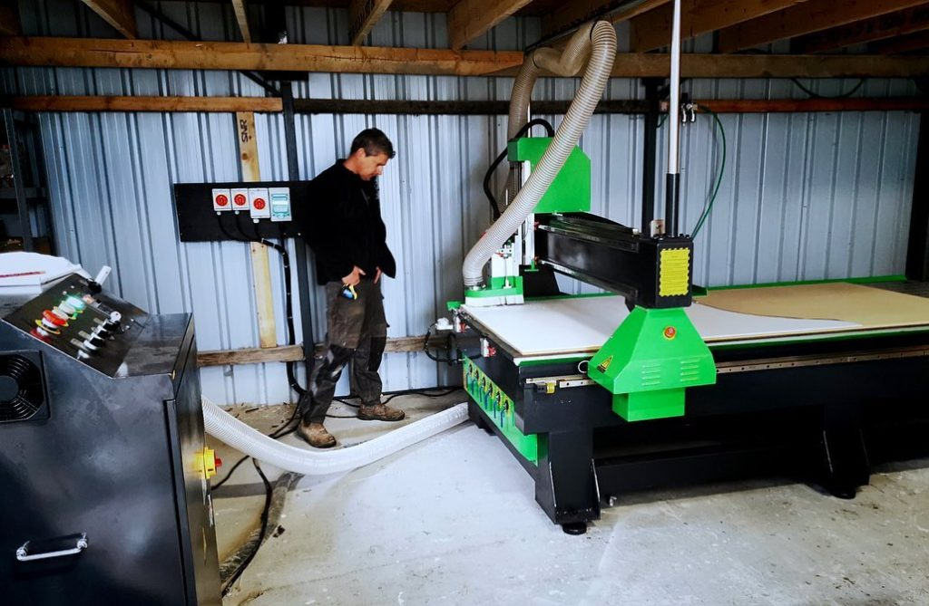 CNC router installation in Co. Galway Ireland