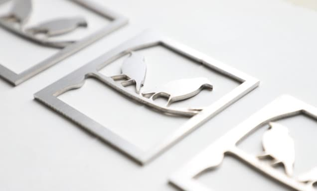Stainless steel Cut On A Fibre Laser Machine