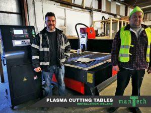 Plasma Cutting Table Installation In Ireland