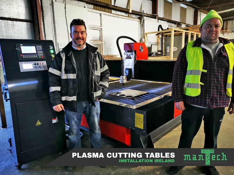 Plasma Cutting Table Installation In Ireland