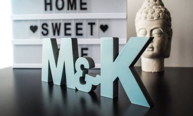 Laser cut wood letters - Large Format laser uk