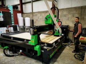 CNC Router Installation In Limerick.