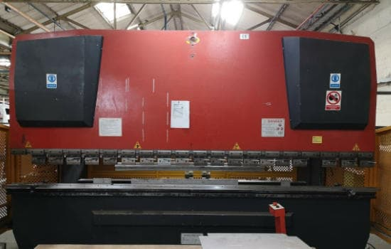 Carter CNC Hydraulic Press Brake 3 axis 4000mm x 125T