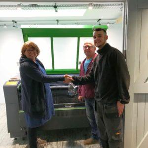 CO2 Metal Laser Cutter UK