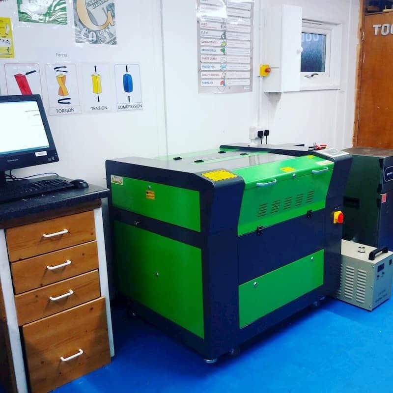 Laser machines for school