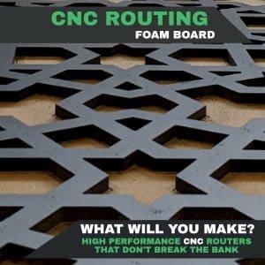Cut Foamex On a CNC Router