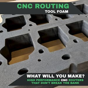 Cut Thick Foam On a CNC Router