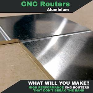 Cut Aluminium on a Mantech CNC Router