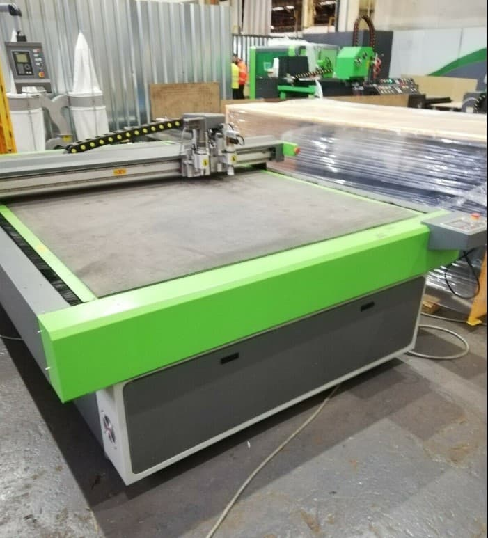 used digital cutting table BCAM CNC