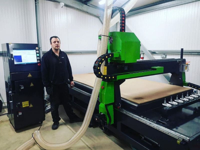 Apollo 1325 CNC Router Installation UK
