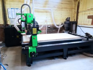 Customer CNC Router Installation In Essex UK