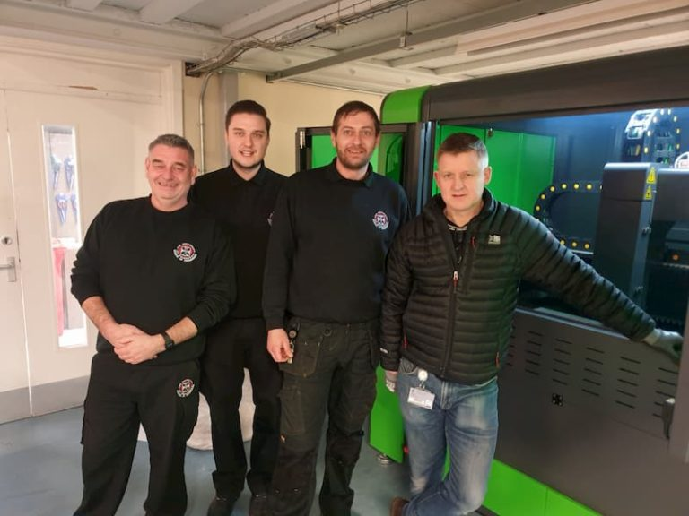 Fibre Laser installation in Scottish University