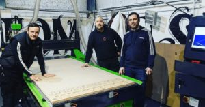 Merlin CNC Router With NC Studio UK