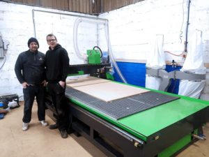 Merlin CNC Router In Avon UK.