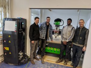 Charity London Reclaimed - Purhcase a Mantech CNC Router To Help Young People Learn New Skills.