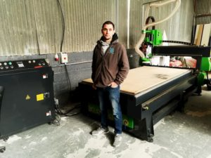 New Apollo CNC Router Install In Ireland
