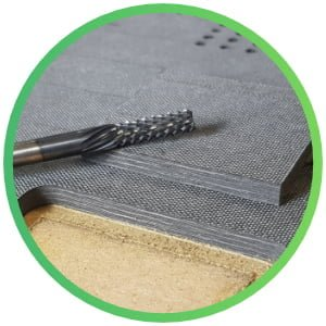 Cut Carbon Fibre on a CNC Router