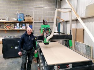 Contract Builder - Apollo 1325 CNC Router Installation