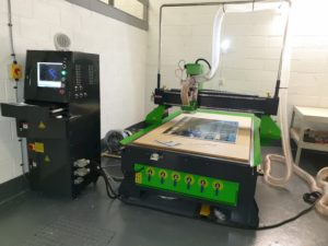 Merlin 1325 CNC Router Installation