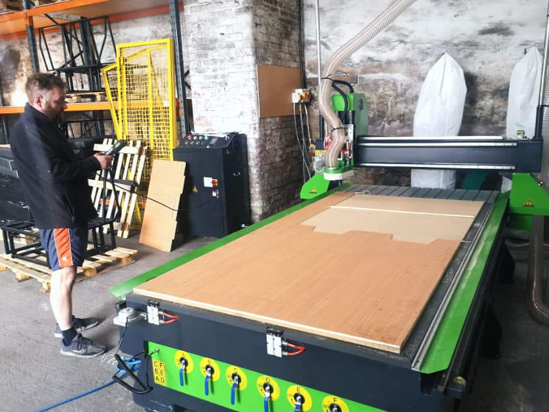 Campervan Bed Firm Chooses Merlin CNC