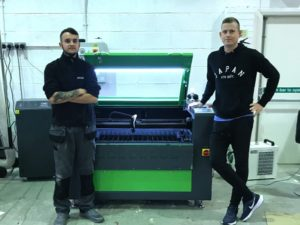 Laser machine UK