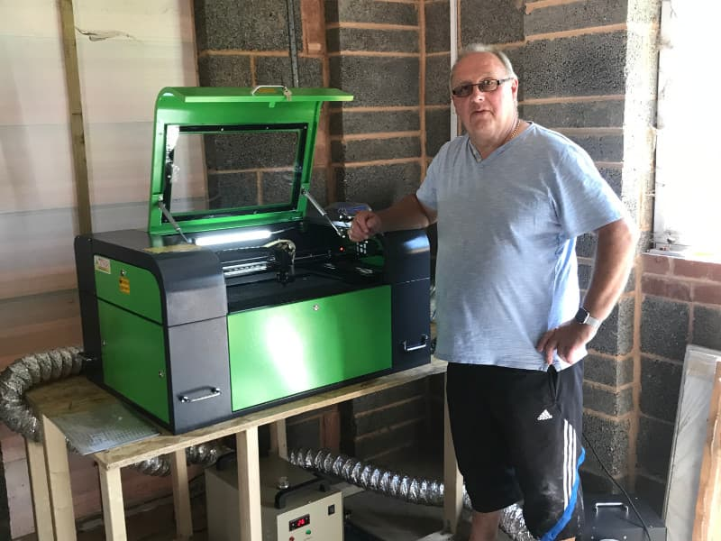 Yorkshire Based Customer Buys Desktop Laser