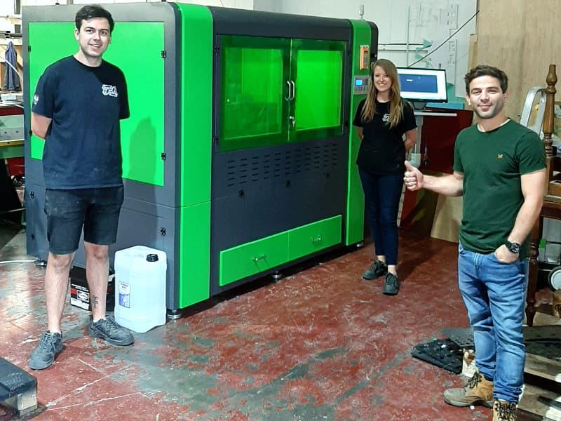 Compact Fibre Laser Installation in Tonbridge