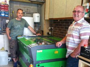 Client nou în Newbury Alege Lasertech