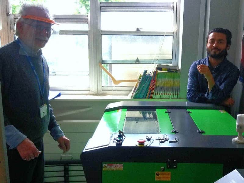 New Laser Cutter & Engraving Machine Install - Education
