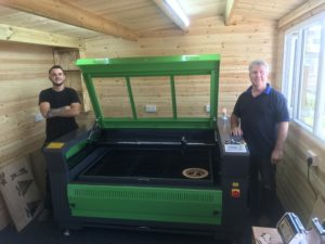 Laser Machine Install Boston, UK