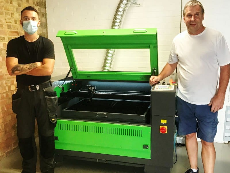 Corby based crafter chooses Lasertech