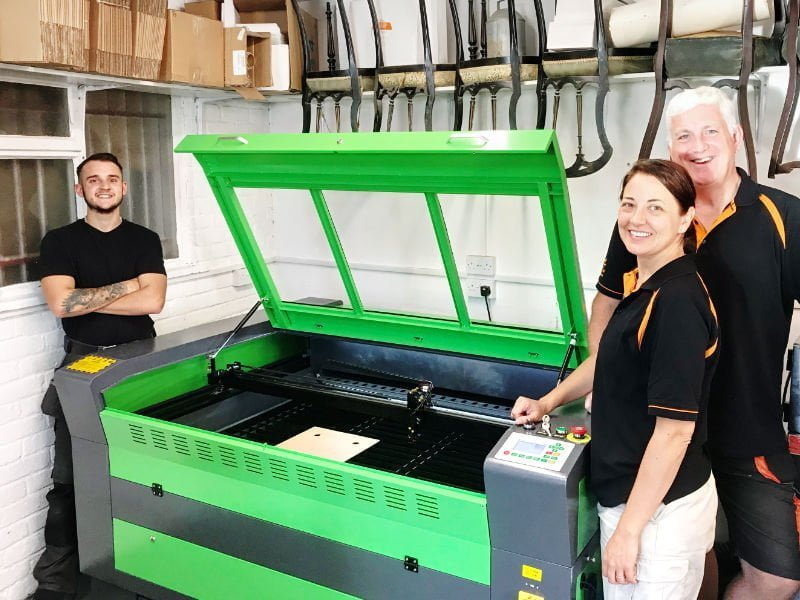 Upcycled Furniture Company Buys Lasertech