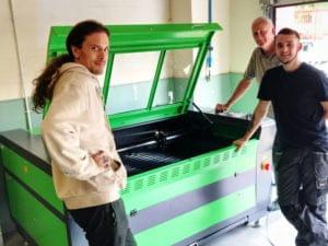 Laser Cutters UK - Customer chooses Mantech