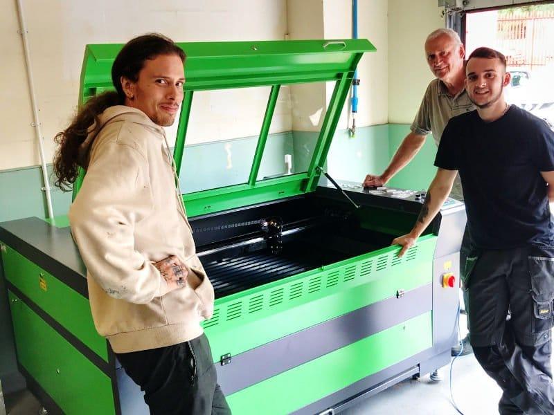 Hygiene Company buys Lasercutter
