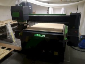 Merlin CNC Router Installation - UK