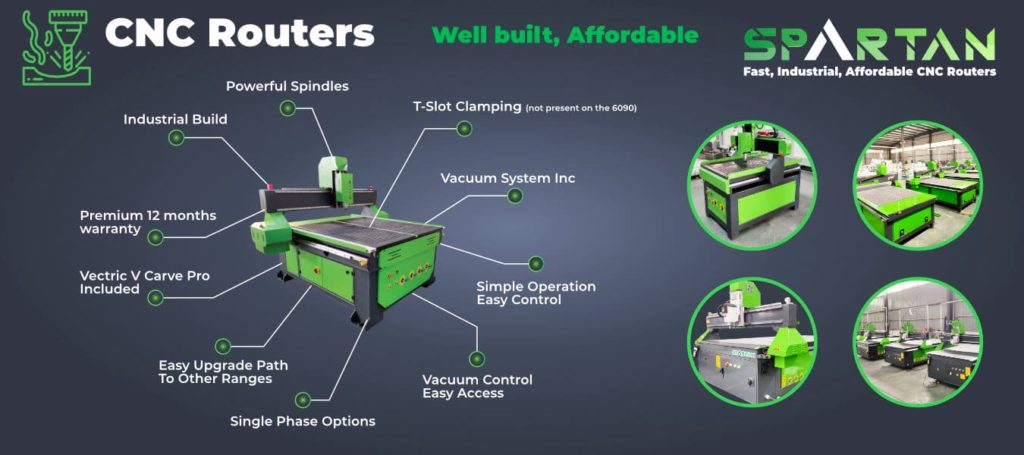 CNC Router Infographic