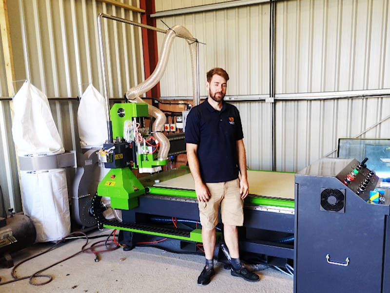 Wood Worker Chooses M6 1325 CNC Router