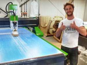 Signmaker uses Spartan CNC Router