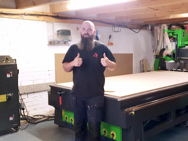 Van Conversions Made Easy With a CNC Router