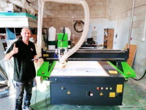Northern Ireland Sign Maker Chooses Spartan CNC