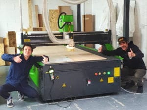 Signmakers In Leeds Choose Spartan CNC Router.