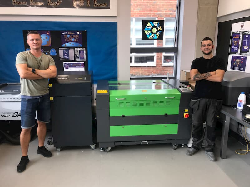 School In London Uses Lasertech Laser Cutter