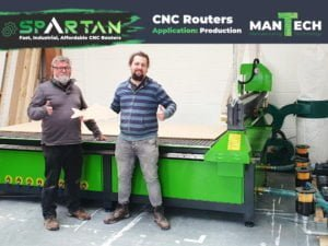 Spartan 10x5 ft CNC Router UK